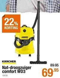 Kärcher nat-droogzuiger comfort wd3-Kärcher