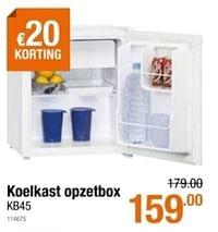 Koelkast opzetbox kb45-Exquisit