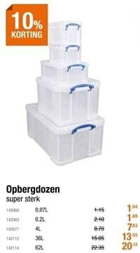 Opbergdozen-Huismerk - Cevo