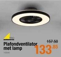 Plafondventilator met lamp-Trio