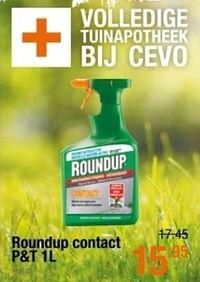 Roundup contact-Roundup