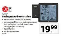 Auriol radiogestuurd weerstation-Auriol