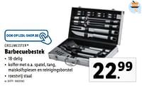 Barbecuebestek-Grill Meister