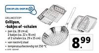 Grillpan, -bakjes of -schalen-Grill Meister