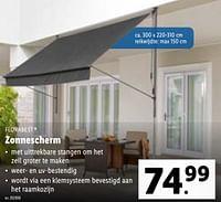 Zonnescherm-Flora  Best