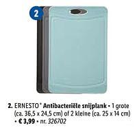 Antibacteriële snijplank-Ernesto