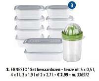Set bewaardozen-Ernesto