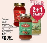 Bertolli pastasaus basilico-Bertolli