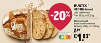 Bruin zuurdesembrood, delhaize-Huismerk - Delhaize