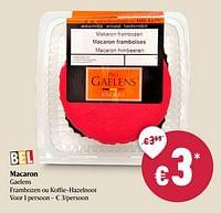 Macaron gaelens-Paul gaelens