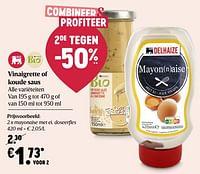 Mayonaise met ei-Huismerk - Delhaize