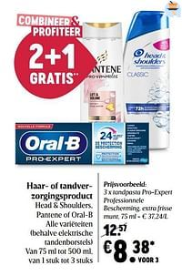Oral-b tandpasta pro-expert professionnele bescherming, extra frisse munt-Oral-B