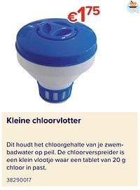 Kleine chloorvlotter-Huismerk - Euroshop