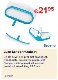 Luxe schoonmaakset-Intex