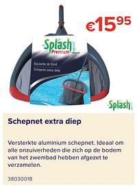Schepnet extra diep-Splash