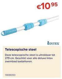 Telescopische steel-Intex