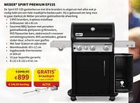 Weber spirit premium ep335-Weber