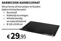 Barbecook barbecuemat-Barbecook