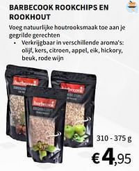 Barbecook rookchips en rookhout-Barbecook