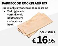 Barbecook rookplankjes-Barbecook