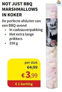 Not just bbq marshmallows in koker-Not Just BBQ