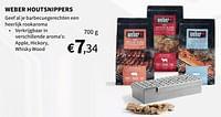 Weber houtsnippers-Weber
