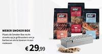 Weber smoker box-Weber