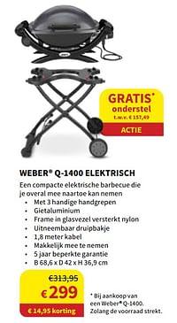 Weber q-1400 elektrisch-Weber