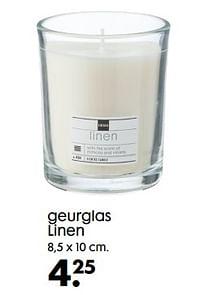 Geurglas linen-Huismerk - Hema