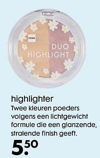 Highlighter-Huismerk - Hema