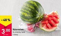 Watermeloen-Huismerk - Aldi