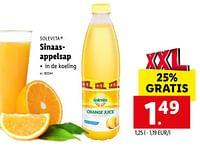 Sinaasappelsap-Solevita