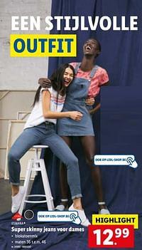 Super skinny jeans voor dames-Esmara