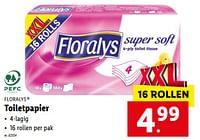 Toiletpapier-Floralys