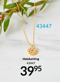 Halsketting-Huismerk - Bon