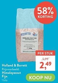 Himalayazout fijn-Huismerk - Holland & Barrett
