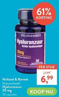 Hyaluronzuur 20 mg-Huismerk - Holland & Barrett