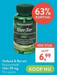 Ijzer 20 mg-Huismerk - Holland & Barrett