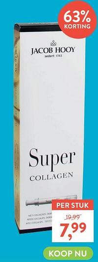 Jacob hooy super collagen-Jacob Hooy