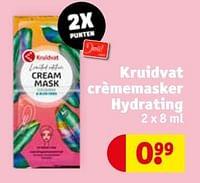 Kruidvat crèmemasker hydrating-Huismerk - Kruidvat