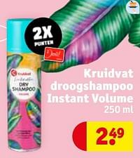 Kruidvat droogshampoo instant volume-Huismerk - Kruidvat