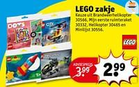 Lego zakje-Lego