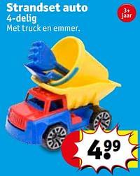 Strandset auto-Huismerk - Kruidvat
