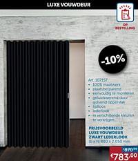 Luxe vouwdeur-Huismerk - Zelfbouwmarkt
