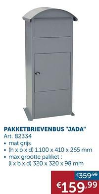 Pakketbrievenbus jada-Huismerk - Zelfbouwmarkt