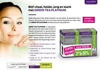 Green tea platinum-Mannavital