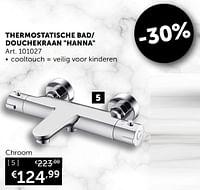 Bad-douchekraan hanna thermostatisch-Mio Bagno