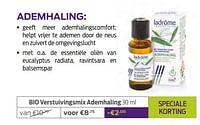 Bio verstuivingsmix ademhaling-Ladrome