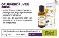 Bio verstuivingsmix geurverdrijver citrus-Ladrome