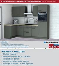 Premium deluxe: keukens in standaardmaten voorgemonteerd-Huismerk - Zelfbouwmarkt